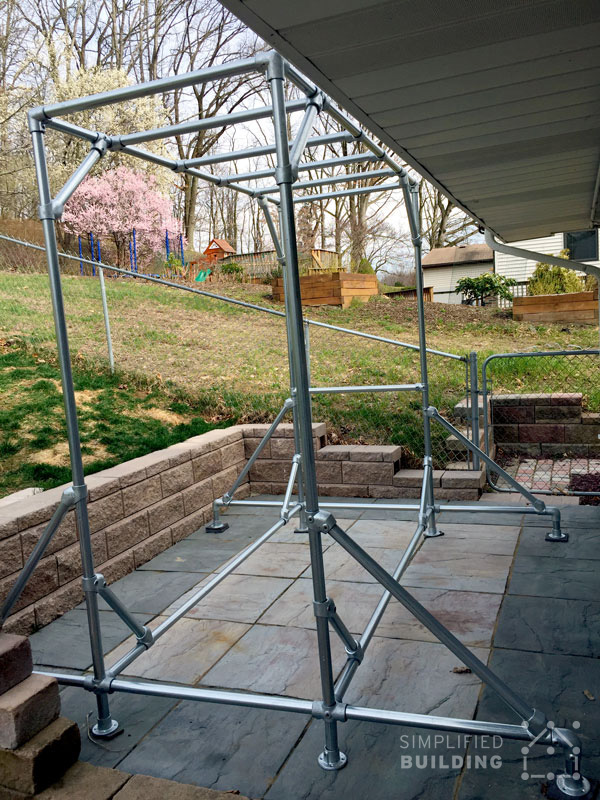 how to make your own american ninja warrior course