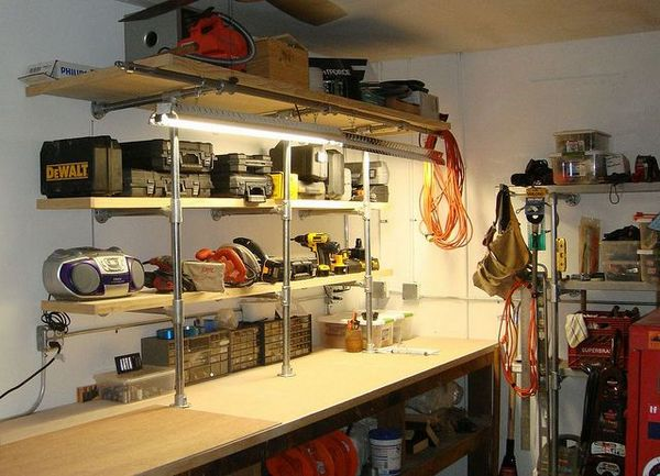 Build The Ultimate Bachelor Pad With Industrial Pipe