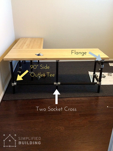 diy wood desk top | Quick Woodworking Ideas