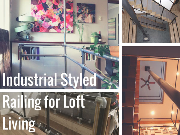 Industrial Style Railing