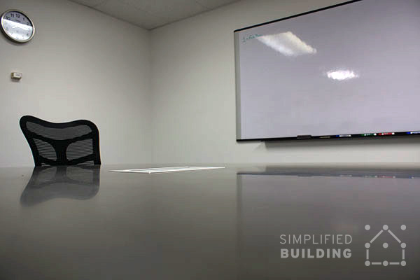 Kee Klamp Tables - Concrete Table