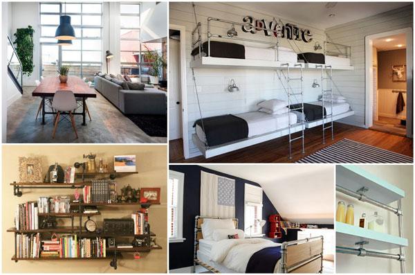5 idee n om je huis een industrieel interieur te geven blog for Huis interieur ideeen