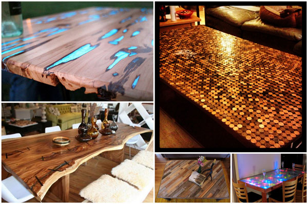 Table Top Ideas diy tabletop ideas 10 diy dining table ideas build your own table