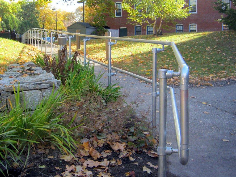 ADA Handrail D Return