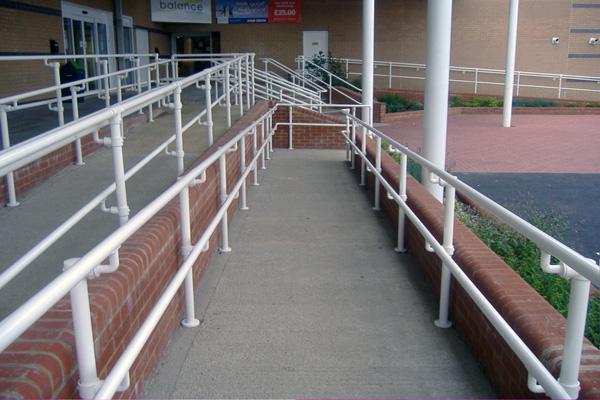ADA Ramp Handrail