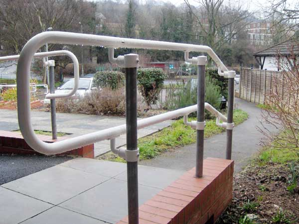 ADA Handrail D Return