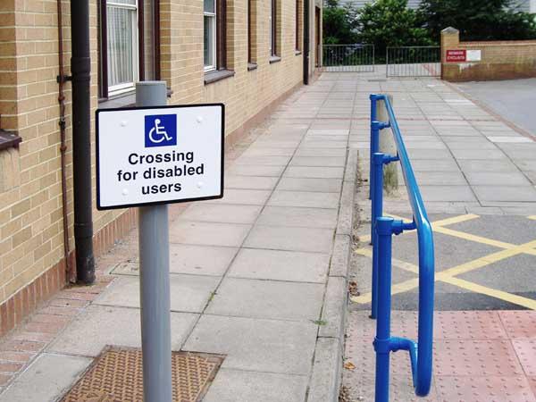 Handicap Railing
