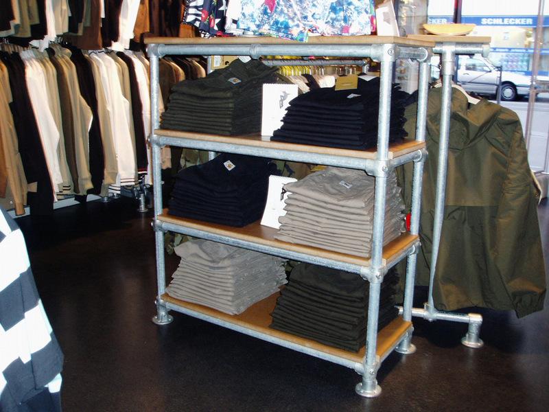 Retail Clothing Racks Stylish Easy To Configure Racks