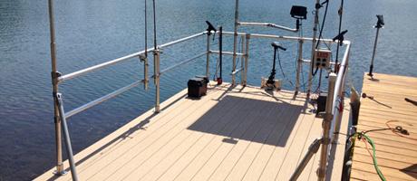 Pontoon Boat Restoration and Railing Upgrade Image