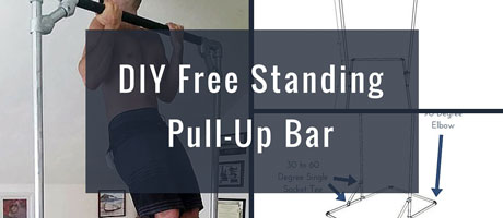 DIY Free Standing Pull-Up Bar Image