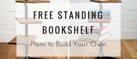 Free Standing Bookshelf: Plans to Build Your Own Image