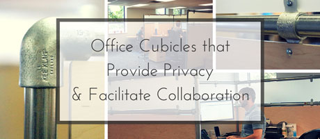 Office Cubicles that Provide Privacy and Facilitate Collaboration Image