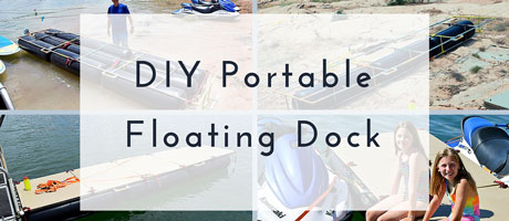 DIY Portable Floating Dock Image