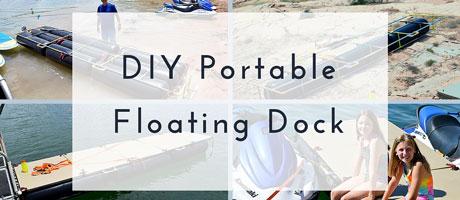 DIY Portable Floating Dock Image