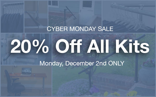 20% Off All Kits - Cyber Monday Only